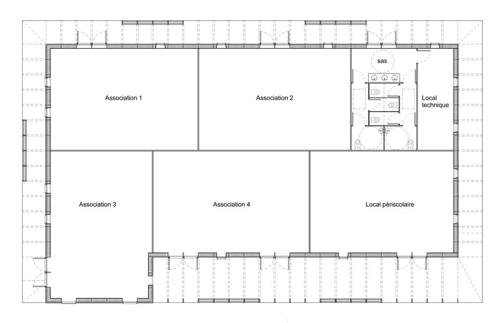 Construction DUne Maison De La Solidarit  Quatro Architecture